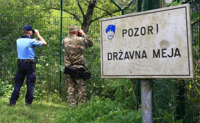 Slovenska politika izraža resne pomisleke o izpolnjevanju hrvaških pogojev za vstop v schengen. FOTO: Tomi Lombar/Delo