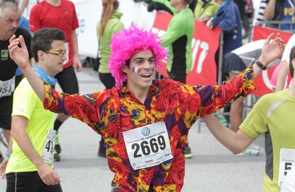FOTO:Kako se obleči za Ljubljanski maraton