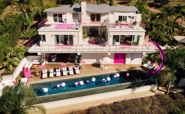 Barbie ponuja v najem svojo sanjsko hišo v Malibuju. Foto: airbnb.com