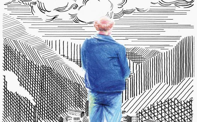 Nagrajeni plakat za film <em>Jaz sem Frenk</em> (oblikovanje in ilustracija Matija Medved, Ansambel), ki ga je naročil zavod za kulturne dejavnosti Vertigo. Z odlično ilustracijo in ročnim črkorisom plakat učinkovito kaže čustveni naboj filma. Foto matijamedved.com