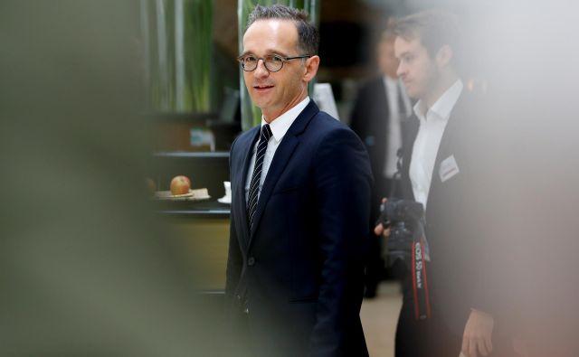 Heiko Maas, nemški zunanji minister. FOTO: Leonhard Foeger Reuters