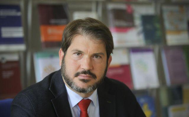 Miha Lobnik je pred tremi leti prevzel vodenje samostojne institucije zagovornika načela enakosti. Foto Joze Suhadolnik