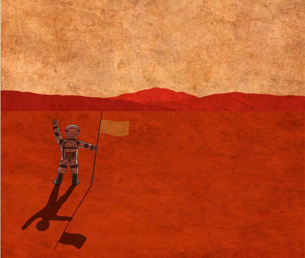 FOTO:Zakaj na Mars? Ker je tam