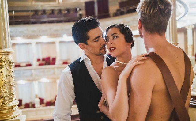 Balet Veliki Gatsby. FOTO: Darja Štravs Tisu