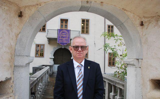 Danilo Zavrtanik, rektor Univerze v Novi Gorici Foto Ali Žerdin