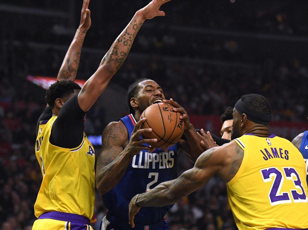 Prvaki za uvod potrebovali podaljšek, LA Clippers boljši od LA Lakers