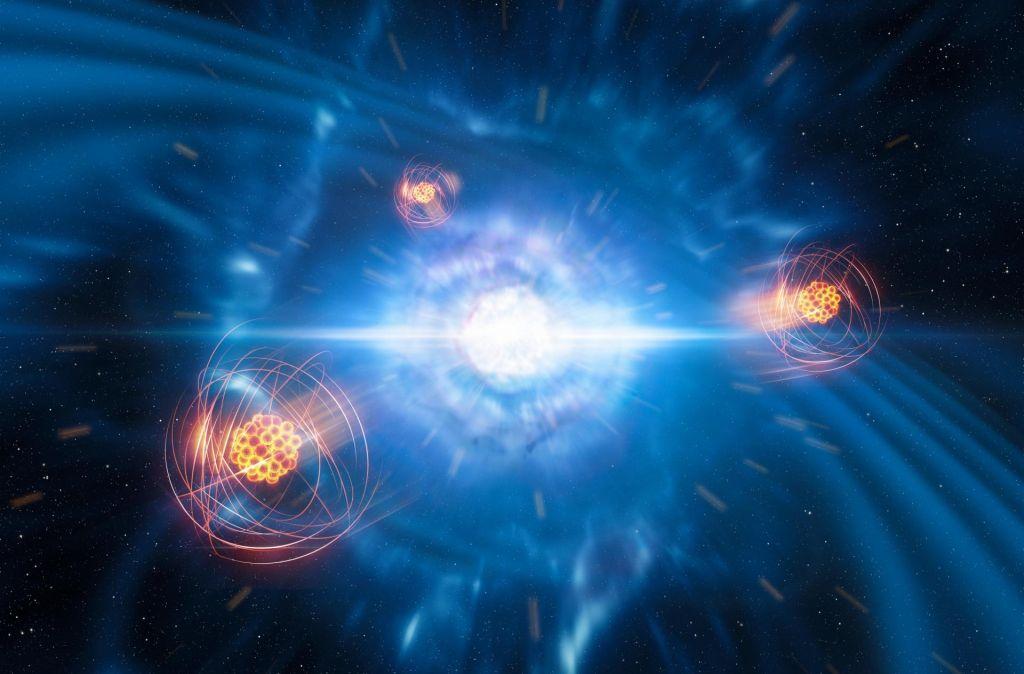 Nevtronske zvezde rojevajo tudi stroncij
