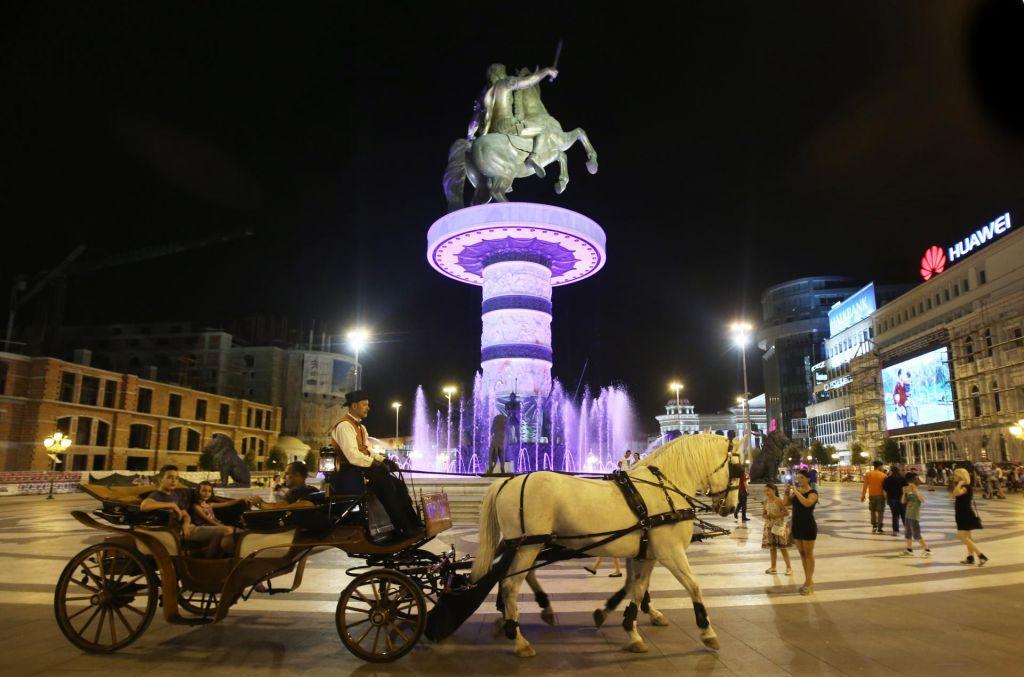 FOTO:Severna Makedonija potisnjena proti jugu