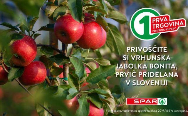 Bonita je izjemno odporna sorta, ki jo lahko pri nas pridelujejo le določeni pridelovalci. FOTO: SPAR Slovenija
