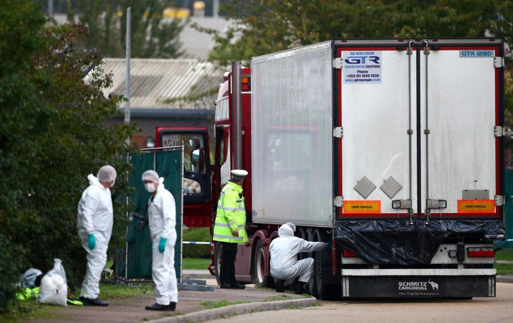 Mrtvi ljudje, ki so jih odkrili v tovornjaku, so bili Kitajci