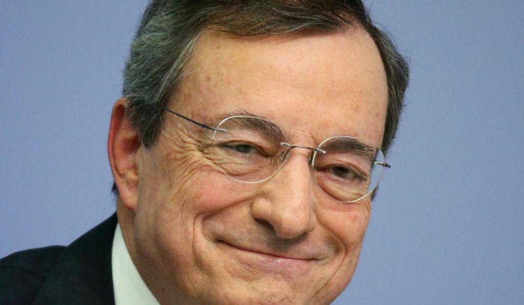 ECB ob Draghijevem slovesu brez novih ukrepov