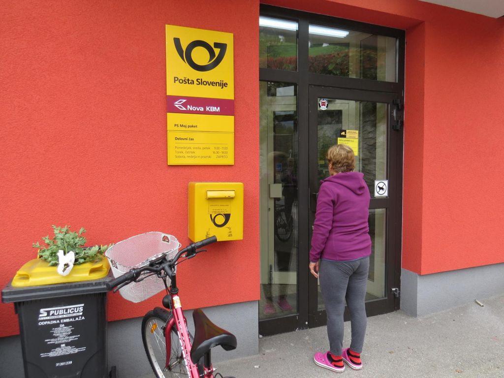 FOTO:Pošte v Stahovici ne dajo