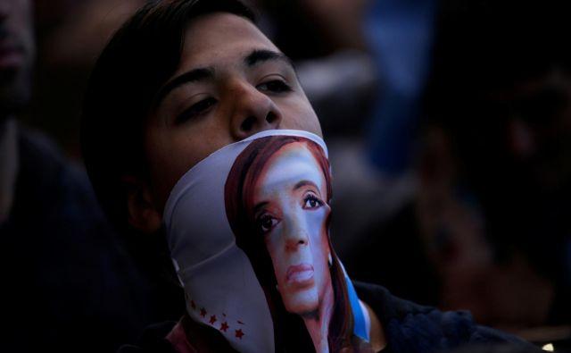Obeta se vrnitev Cristine Fernández de Kirchner, ki je vodila Argentino med letoma 2008 in 2015. Po novem bo opravljala podpredsedniško funkcijo. Foto Reuters