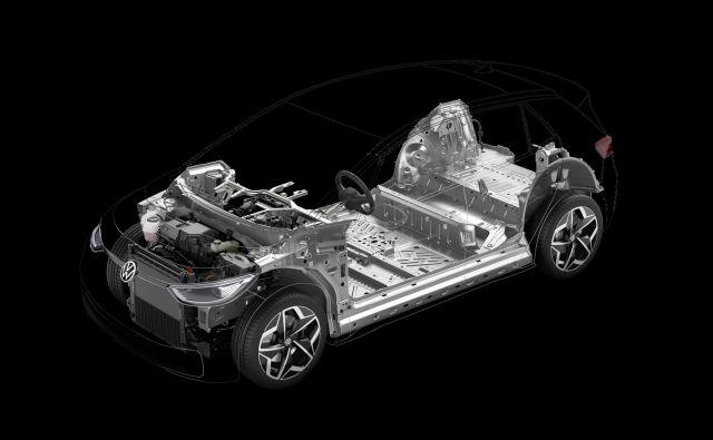 Volkswagen s svojo povsem novo platformo očitno stavi na baterijske električne avtomobile. Foto Volkswagen