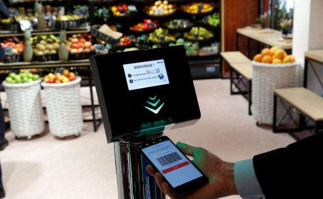 Tehnologija bo izboljšala nakupno izkušnjo in okrepila operativno učinkovitost procesov v trgovini. FOTO Reuters
