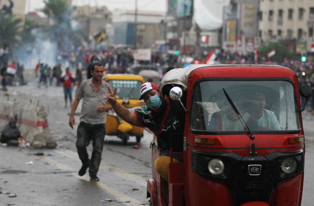 Nov val smrtonosnih protestov v Iraku