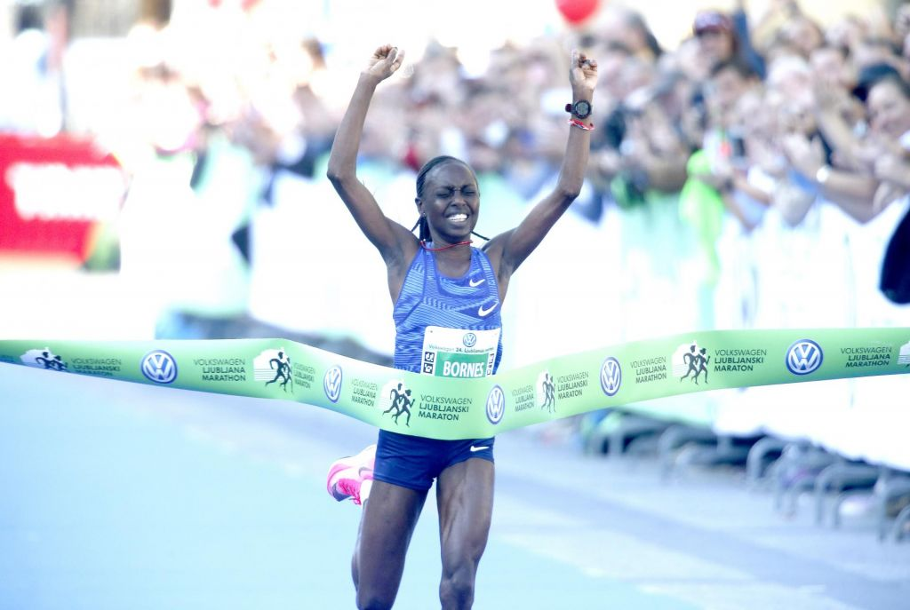 FOTO:24. ljubljanski maraton postregel s tremi rekordi