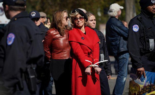 Igralka in aktivistka Jane Fonda.Foto Sarah Silbiger Reuters