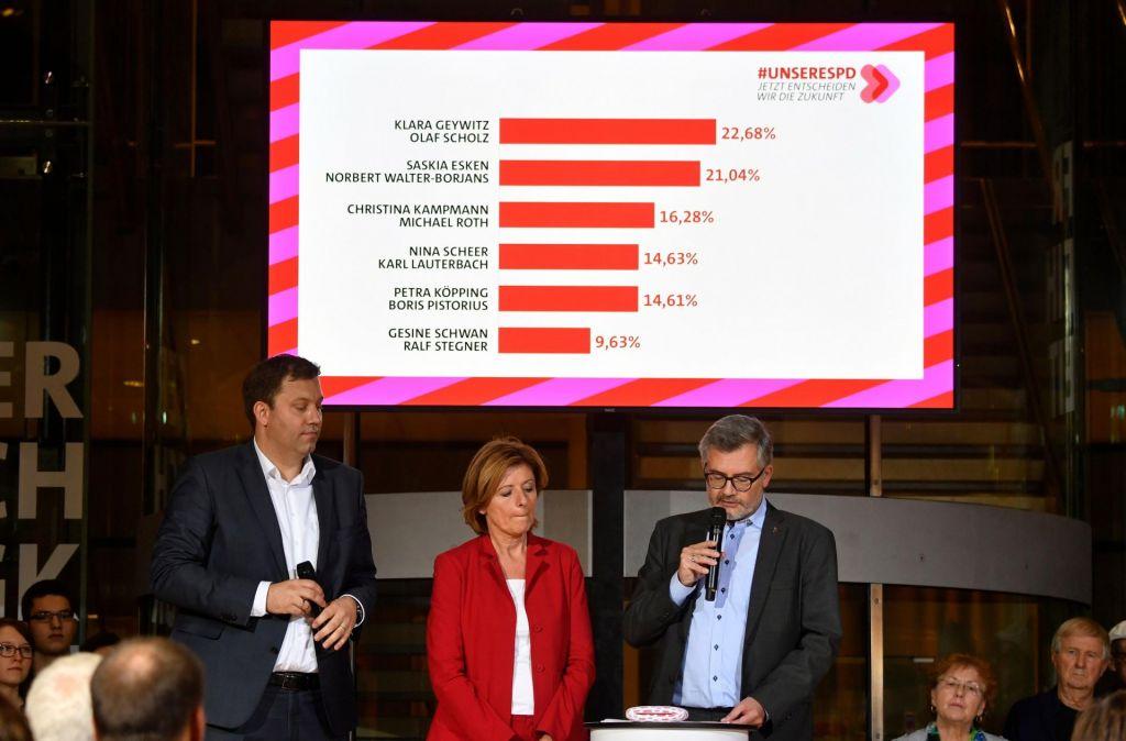 Za vodenje SPD bo potreben še drugi krog glasovanja