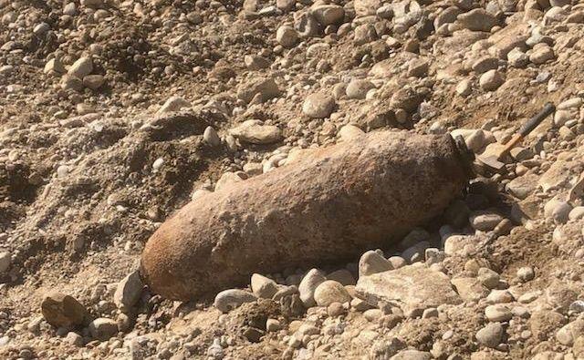 Gre za drugo najdbo bombe v zadnjih dveh dneh, potem ko so v soboto delavci na gradbišču pri nakupovalnem središču Europark našli 250-kilogramsko ameriško neeksplodirano letalsko bombo iz druge svetovne vojne. FOTO: Mestna Občina Maribor