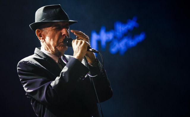 Leonard Cohen je imel litovske korenine. FOTO: Valentin Flauraud/Reuters