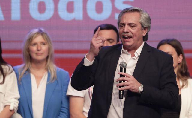 Novoizvoljeni argentinski predsednik ne obljublja magične rešitve krize, temveč zmernost. FOTO: Alejandro Pagni/AFP