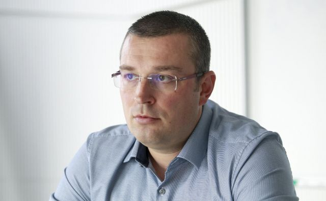 Ivan Paić, direktor Schneider electrica, pravi, da gre slovenska digitalizacija energetike v pravo smer. FOTO: Roman Šipić/Delo