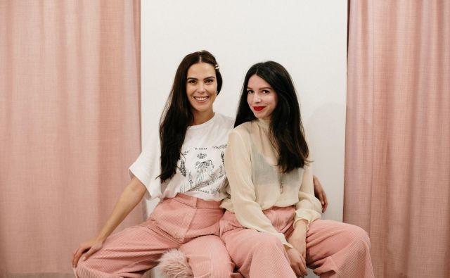 Janja in Ula. Foto Sonja Ravbar
