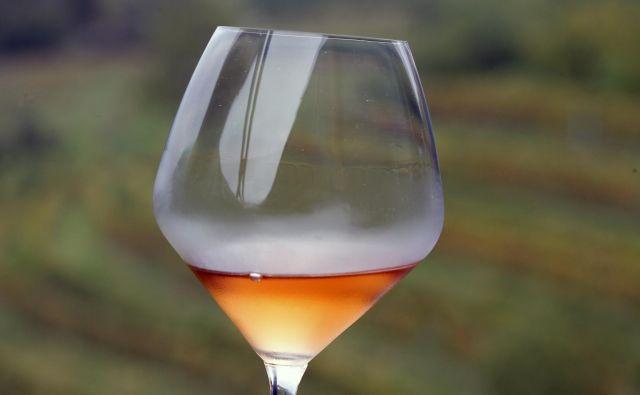 Slovenska oranžna vina so predstavili tudi na Dunaju. FOTO: Mavric Pivk