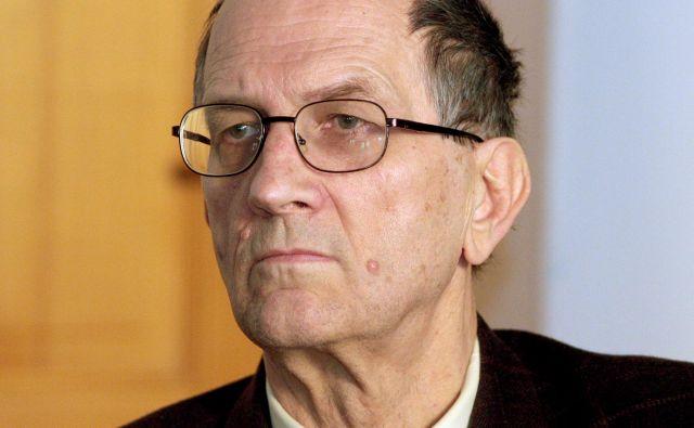 Mihael Gabrijel Tomšič, 1941-2019<br /> Foto Roman Šipić