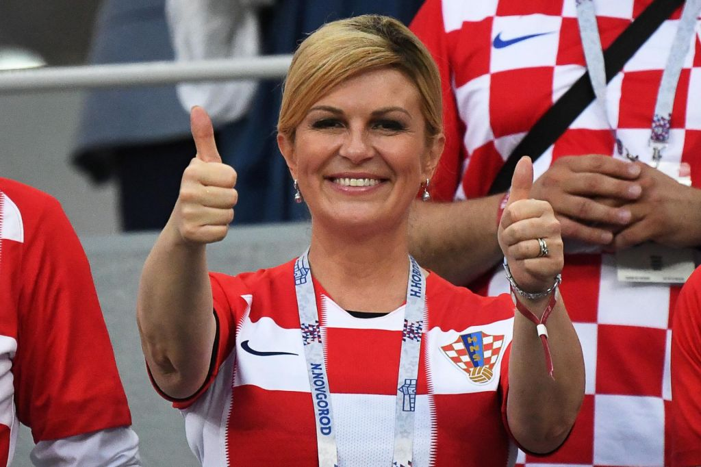 Hrvaška predsednica za železno zaveso