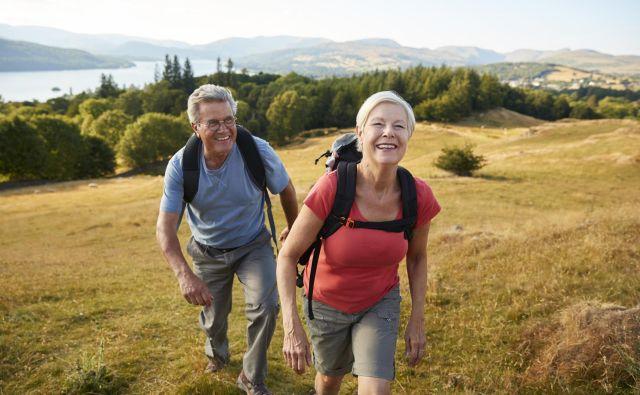 Aerobni sistem je osnovni sistem za delovanje človeškega telesa in je najbolj aktiven pri vseh dolgotrajnih nizkointenzivnih aktivnostih, kot sta hoja in tek na dolge proge. Foto: Shutterstock