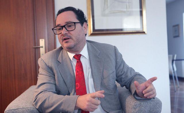 Namestnik veleposlanika kraljevine Španije Martín Remón Miranzo Foto Mavric Pivk