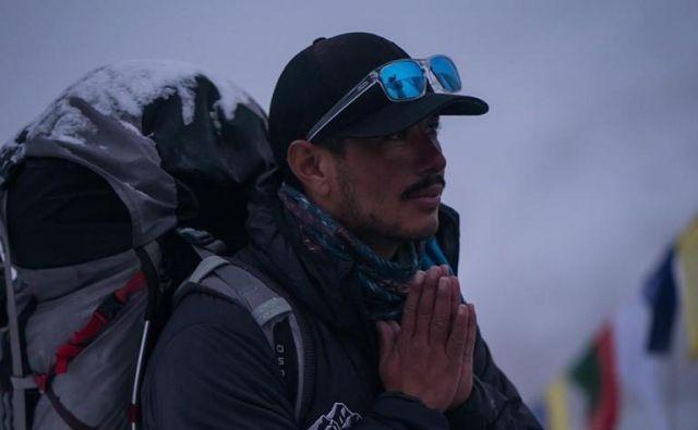 Sam je bil kratek in jedrnat: želi si biti v navdih bodoči generaciji nepalskih alpinistov. FOTO: Facebook profil/Nirmal Purja