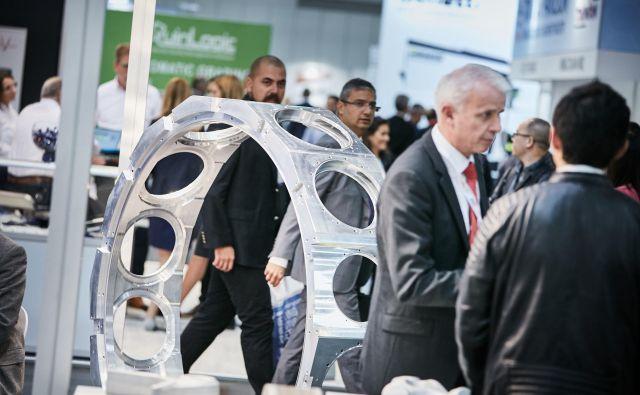 Na sejmu Aluminium v Düsseldorfu ne manjka nihče, ki deluje v aluminijski industriji. Foto Messe Düsseldorf