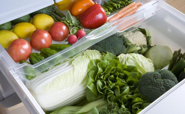 Veggie drawer in the fridge Foto Gyro Getty Images/istockphoto
