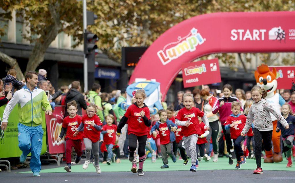 FOTO:Ljubljanski maraton: Lumpiji so vsako leto večji