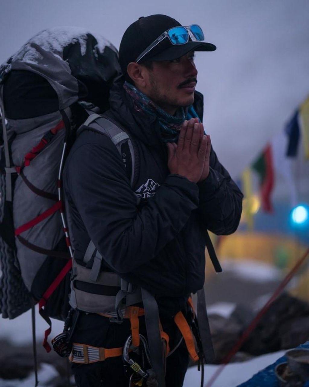 »Drvenje« na osemtisočake: Nepalec za 14 najvišjih vrhov porabil le sedem mesecev