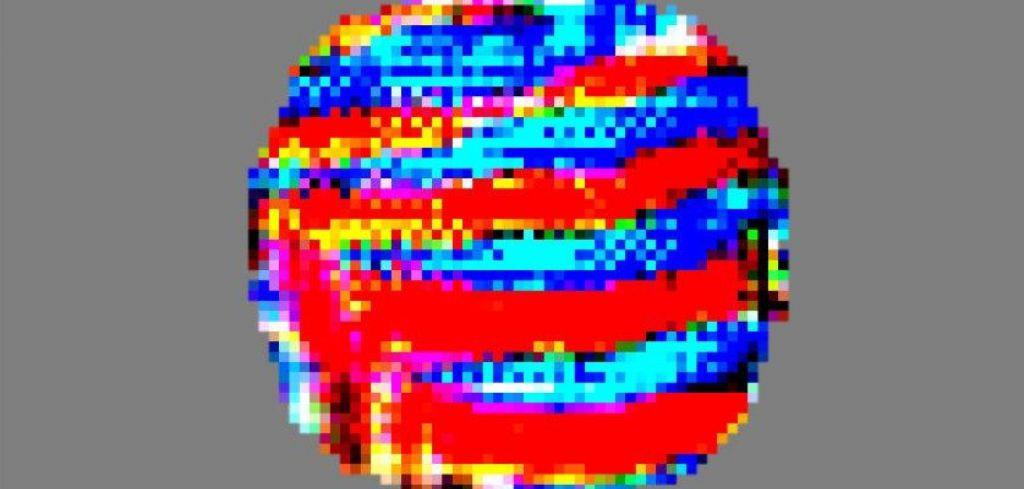 Barvni vzorec, zaradi katerega se avtonomnim avtomobilom zmeša