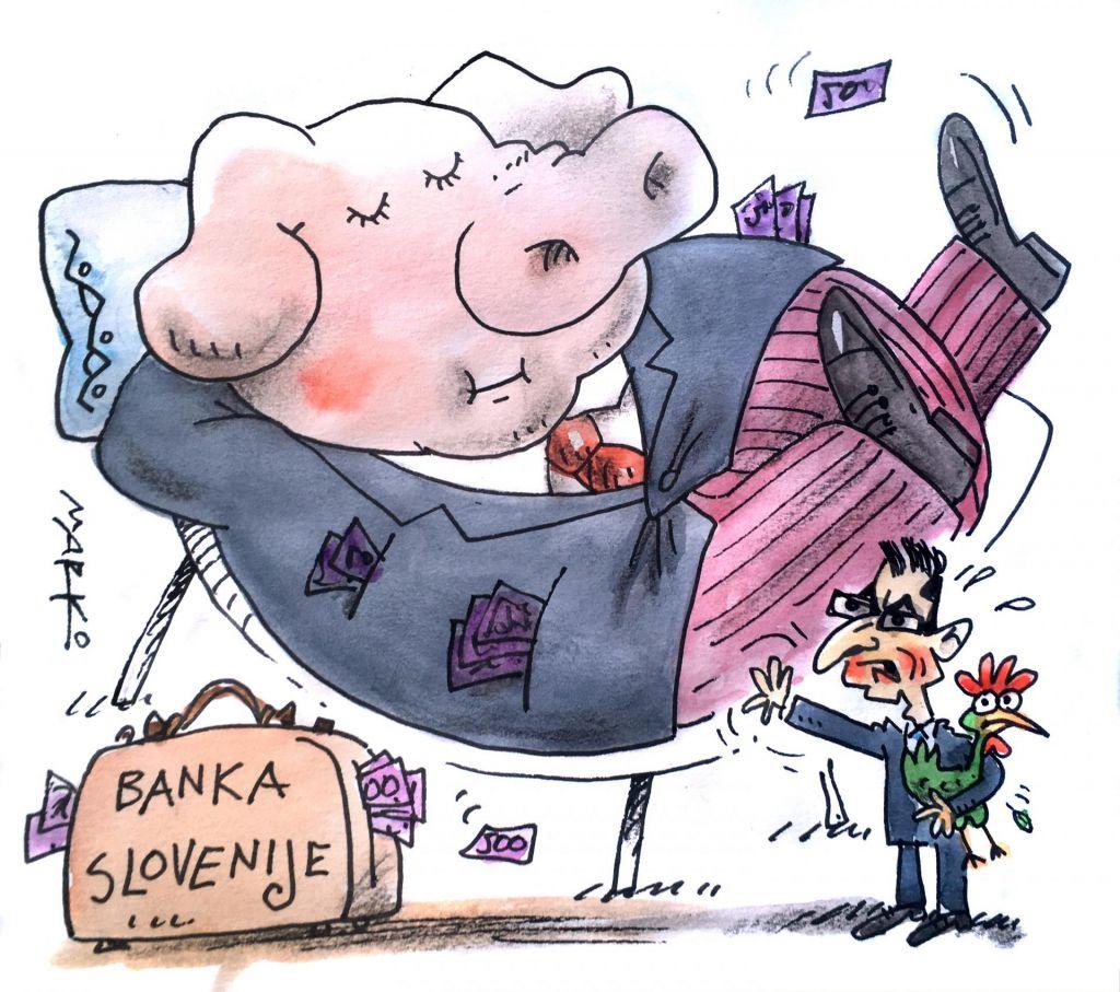 Odnosi med vlado in centralno banko na eni najnižjih točk do zdaj