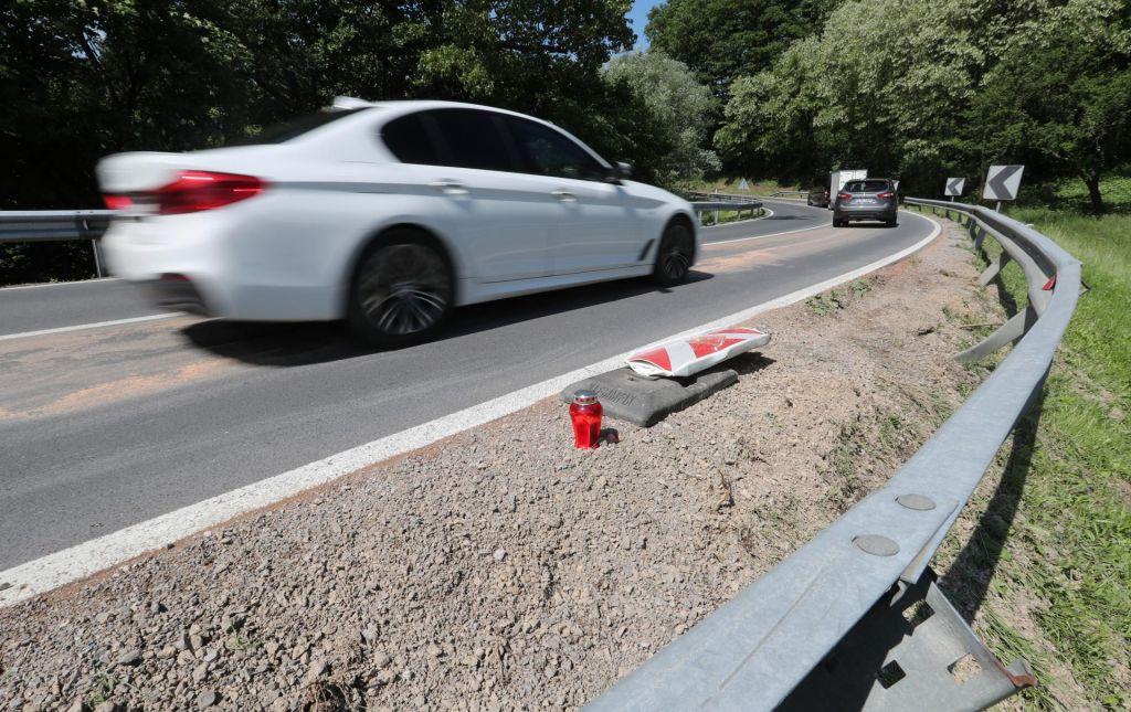 Nesrečo povzročila 62-letna voznica, ki je podlegla poškodbam