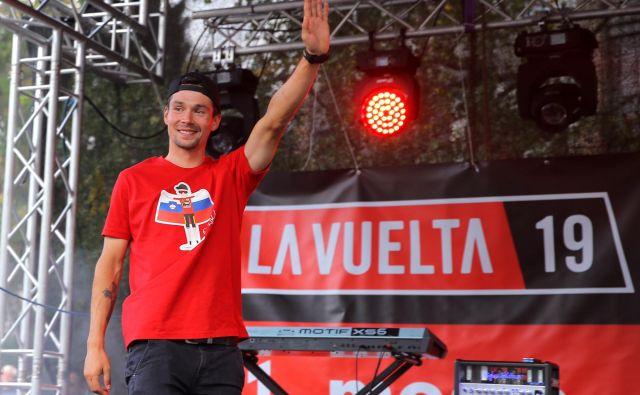 »Zdaj imam še več odgovornosti. Ne glede na vse, trdo bom delal in bomo videli, kako bo šlo prihodnje leto,« je sklenil slovenski kolesarski zvezdnik. FOTO: Jože Suhadolnik