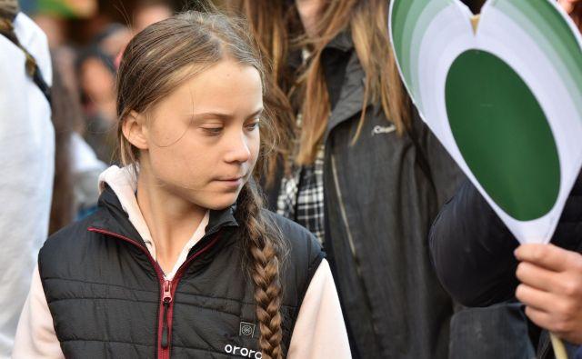 Greta Thunberg je bila ob zavrnitvi nagrade Nordijskega sveta kritična tudi do švedske oblasti. FOTO: Don Mackinnon/AFP