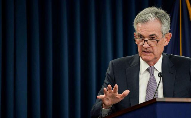 Predsednik Fed Jerome Powell. Foto Sarah Silbiger Reuters