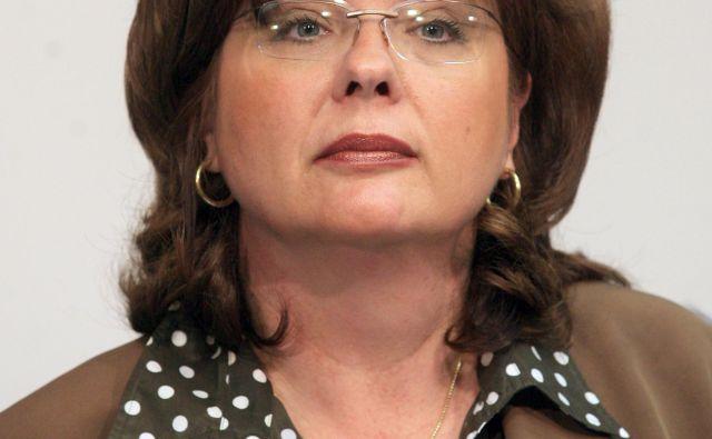 Ob vložitvi kazenske ovadbe je Veronika Stabej za <em>TV Slovenija </em>povedala, da je »svoje delo opravljala profesionalno, z veliko odgovornostjo, za blaginjo države Slovenije«. Foto Matej Družnik