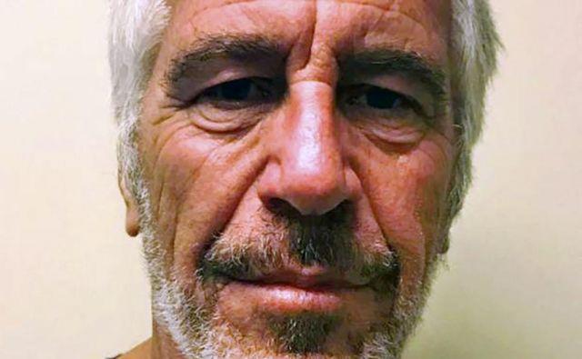 Jeffrey Epstein. Foto Ho Afp
