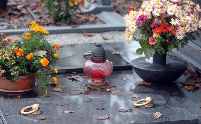 Spomnim se praznovanj na ta dan. Otroci smo nabrali mah in naredili košarice iz leskovih palic, jih napolnili z mahom in vanj zatikali mraznice, ki so se bogato razcvetele na vrtu. Okrasili smo grobove in prižgali sveče. Foto Igor Mali