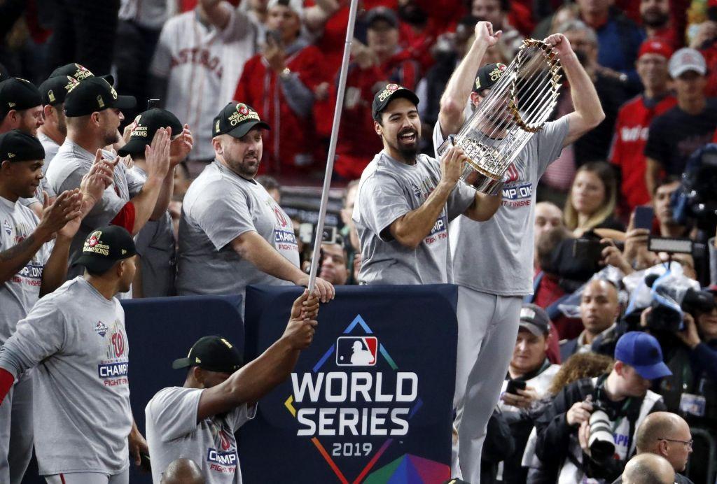 Washington slavi nove prvake (VIDEO)