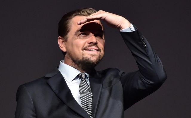 Leonardo DiCaprio se je srečal z Greto Thunberg. FOTO: Reuters