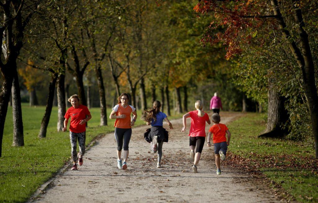 Preprosti kilometri ali tek jeseni